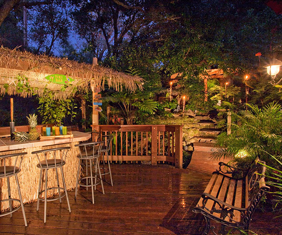 Create a Tropical Retreat in Your Backyard | Home Styles on Tropical Backyard  id=72963
