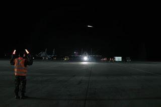 Latihan Pertempuran Udara Malam Hari