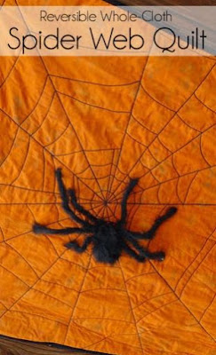 Reversible Spider Web quilt