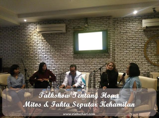 Talkshow Tentang Hoax, Mitos & Fakta Seputar Kehamilan