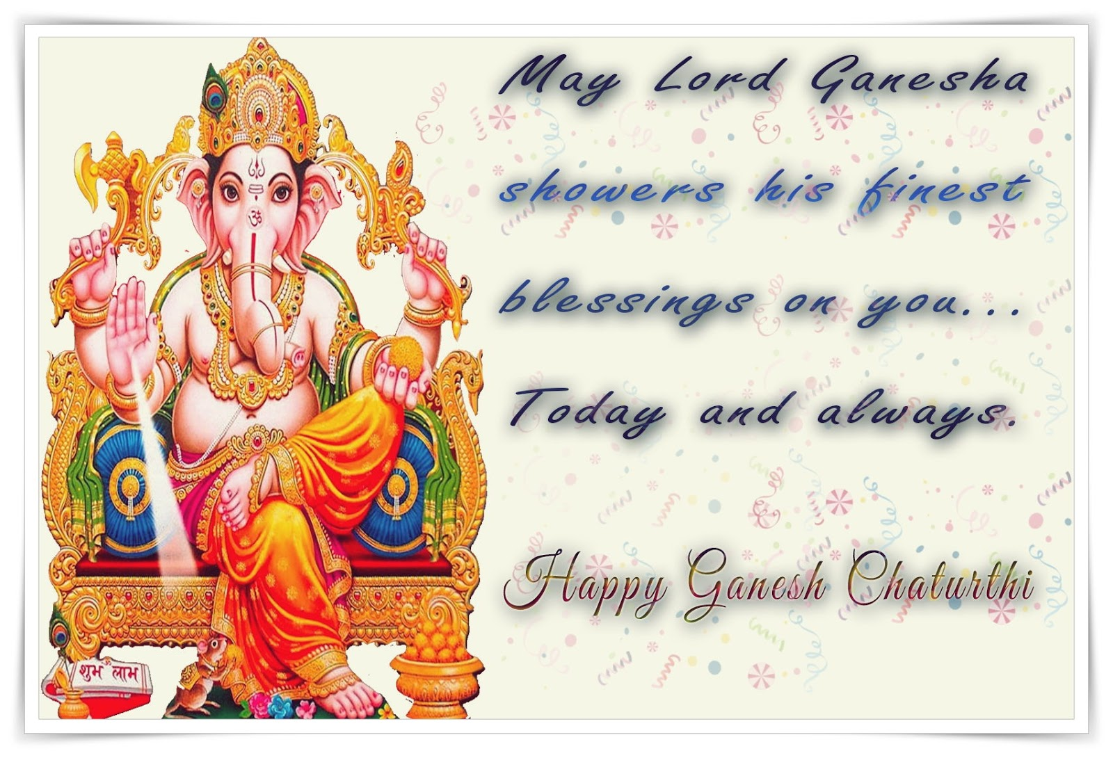 Ganesha Chaturthi Messages, SMS in English ~ Best SMS ...