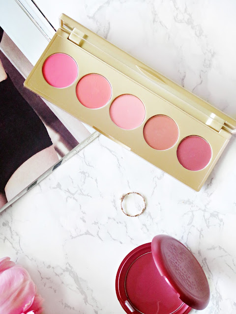 Summer Skin | Stila's Convertible Colour Dual Lip & Cheek Cream Palette in Sunset Serenade | Review & Swatches | labellesirene.ca