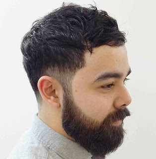 Temple Undercut for Curly Hairs