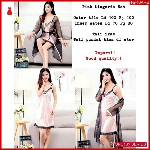 SPC181P49 Piyama Sutra Terbaru Baju Tidur Wanita | BMGShop
