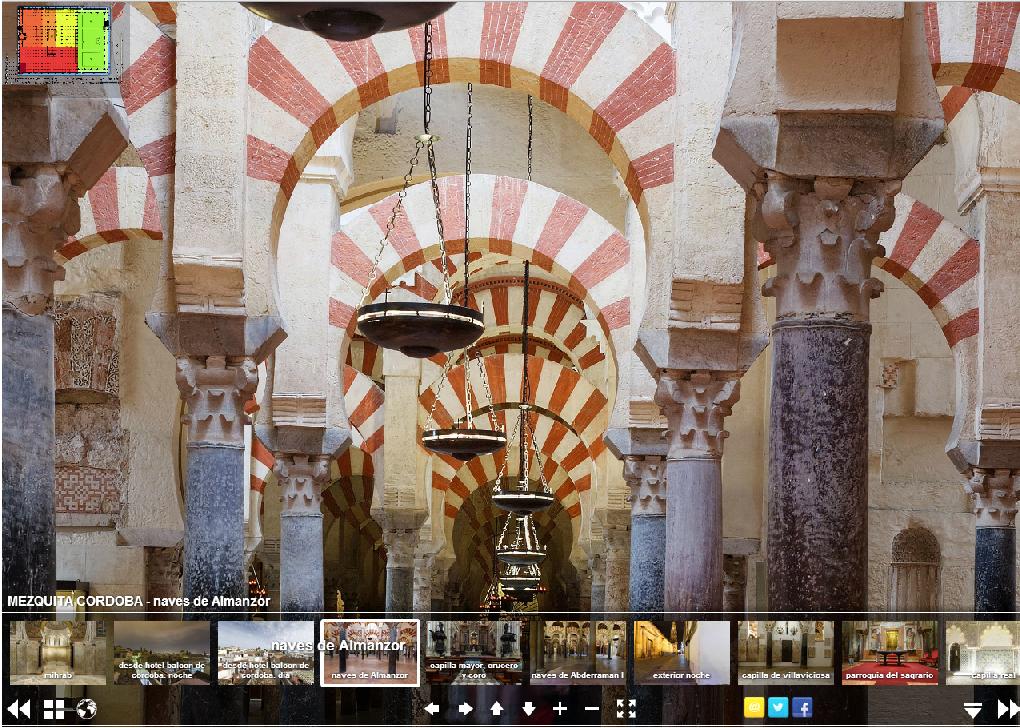 tour interactivo mezquita de córdoba