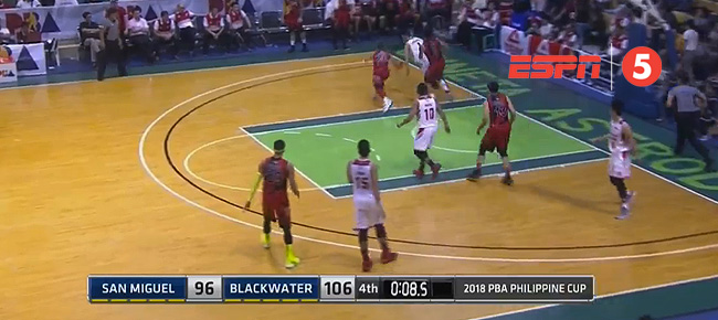 Blackwater def. San Miguel, 106-96 (REPLAY VIDEO) February 9