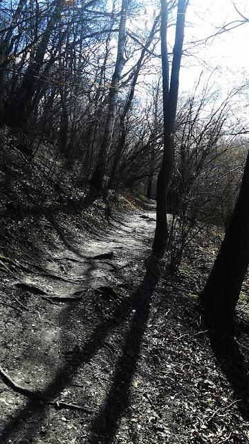 Droga do Skawiny - najwęższy fragment