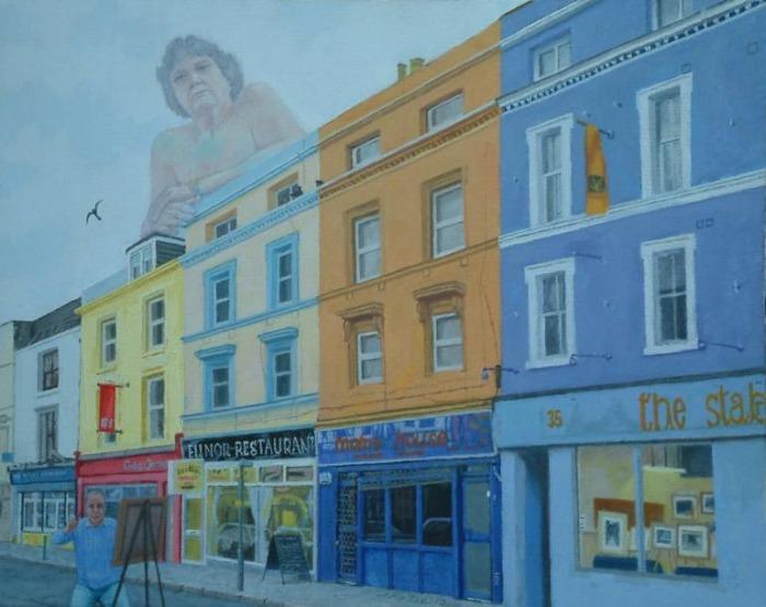 Британский художник. Philip Lee