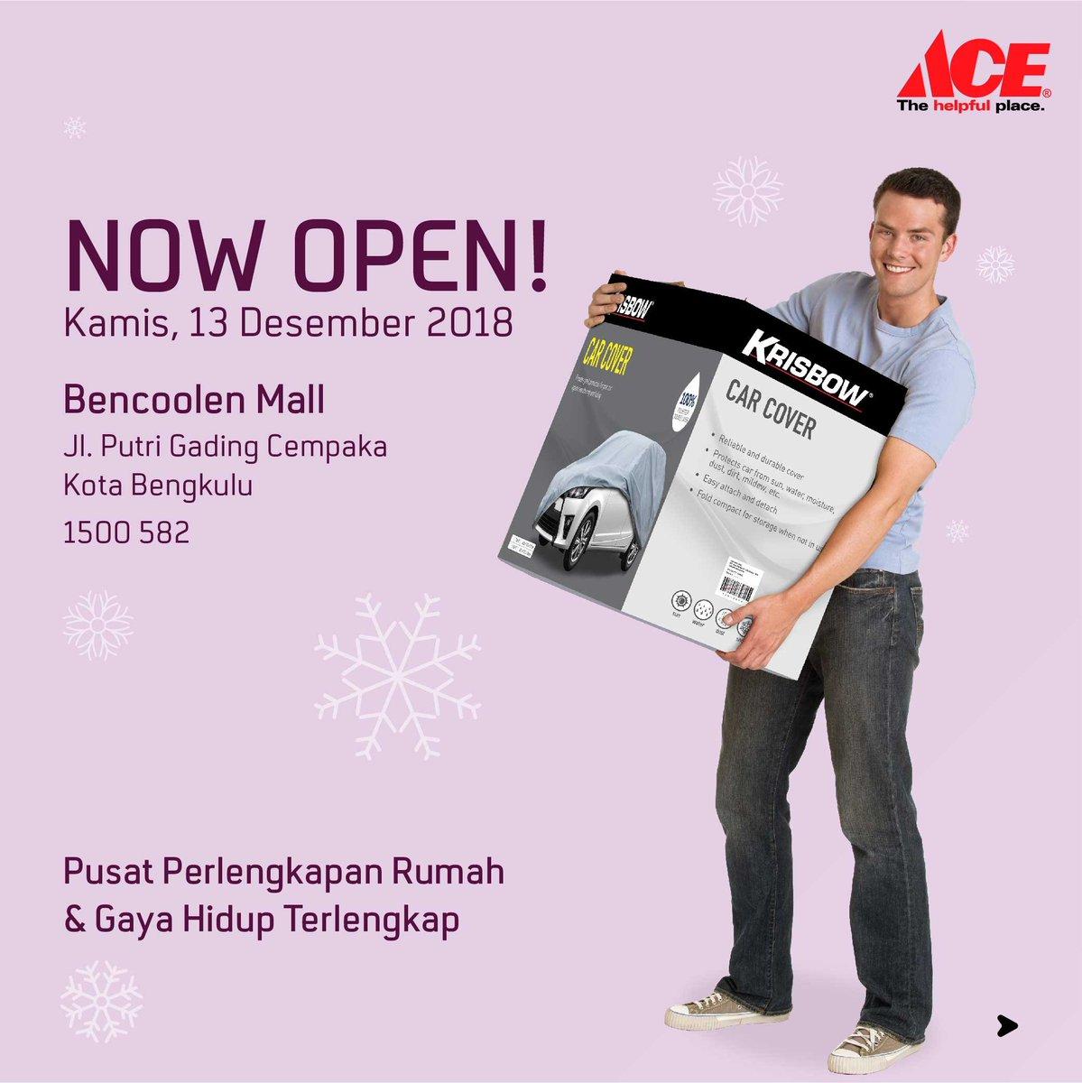 AceHardware - Promo Hemat & Hadiah Langsung di Opening AceHardware Bengkulu