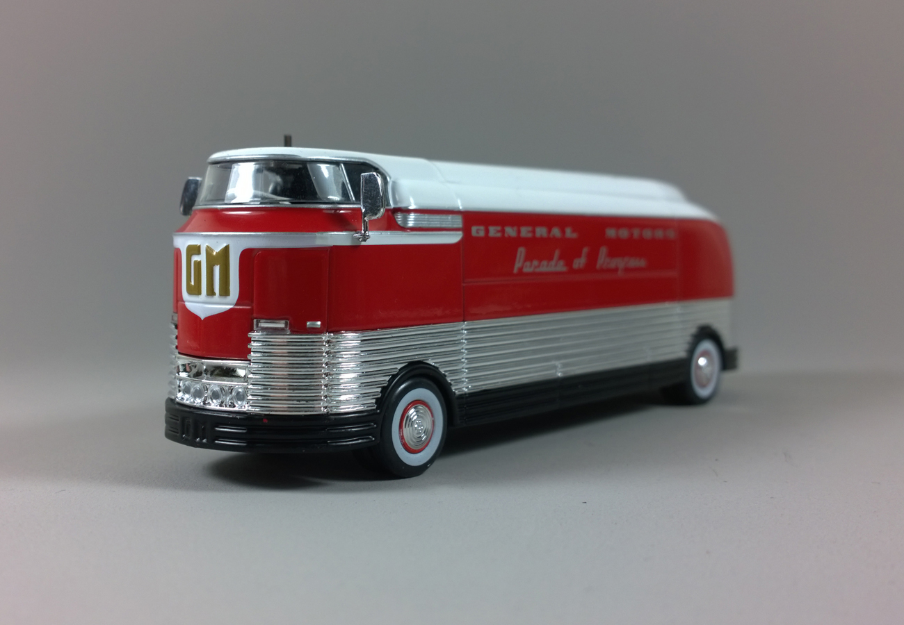 1:43 ALTAYA Bus Collection Greyhound Scenicruiser USA 1954