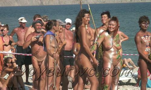 BeachHunters 18267-18373 (Beach Voyeur, Candid, Nude, Topless)