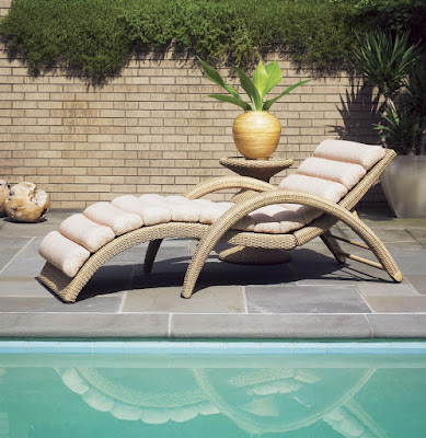 patio chaise lounge from Baer's Furniture