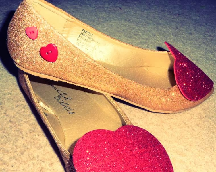 Upcycled Valentine Shoes: Give Your Shoes Some Heart