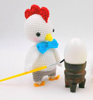 amigurumi crochet Easter Chick & Chicken