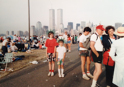 I was going to make a crack about '80s fashion but the image of the twin towers made me put things in perspective.