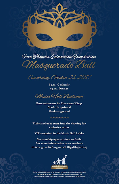 FTEF Presents Masquerade Ball In Newly Renovated Music Hall This October