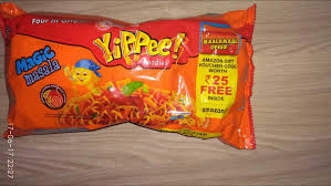 Purchase Yippee Noodels Worth Rs.25 And Get Rs.25 Amazon Gift Voucher