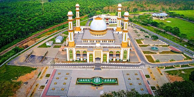 Masjid Agung Kisaran.