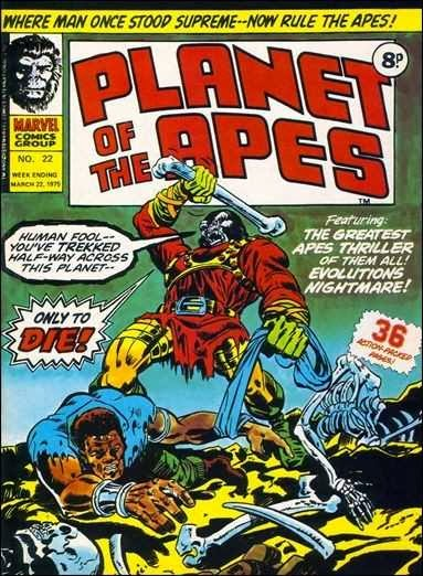 Marvel UK, Planet of the Apes #22