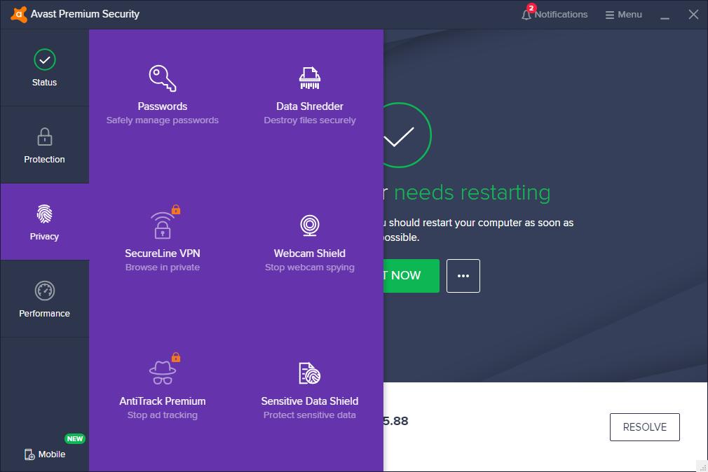 Avast Antivirus 2020 v20.5.5410
