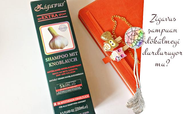 Zigavus sarımsaklı şampuan saç dökülmesi için etkili mi?