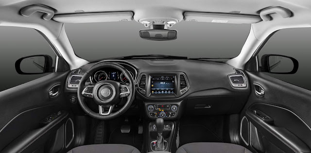 Jeep Compass 2017 Limited Flex - interior - painel