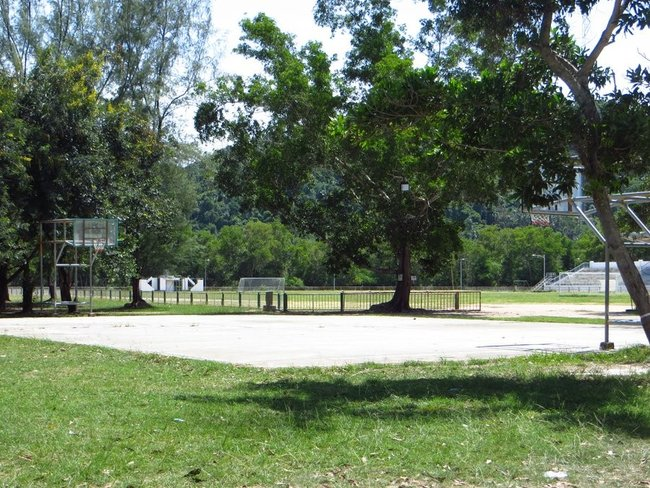 Баскетбольная площадка на Самуи