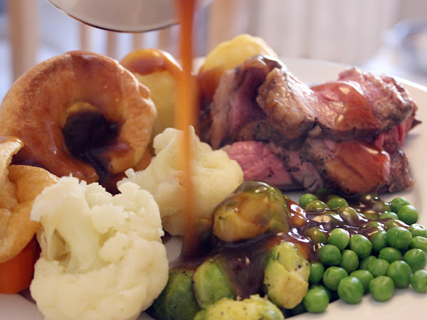 Keep Calm and Have a Nice Sunday roast!