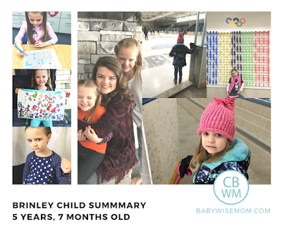 Brinley Child Summary: {5 Years 7 Months Old}