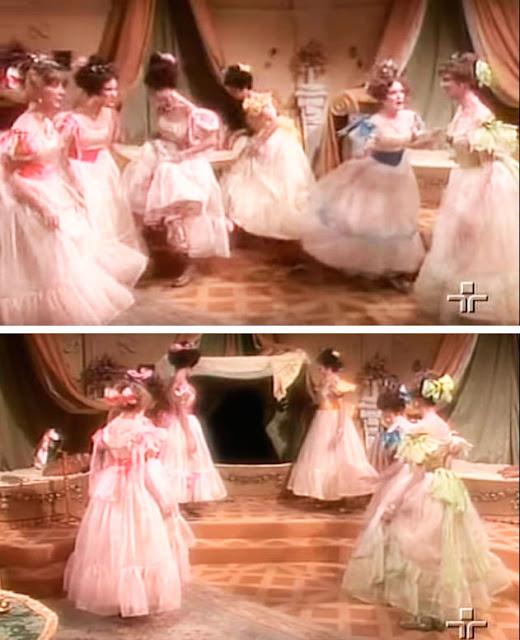 princesas dançarinas