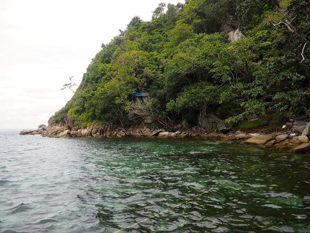 Raya Island coastline, Phuket, Thailand