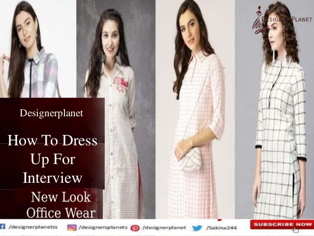 How To Dress Up For Interview Indian formal wear for women Designerplanet