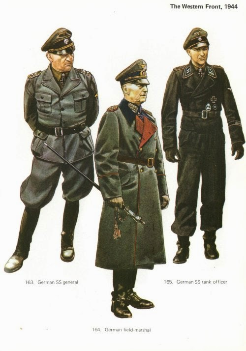 Late War German Infantry Uniforms Pictures 1