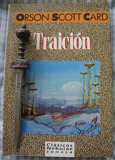 Portada del libro Traición, de Orson Scott Card