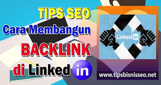 backlink dari linkedin