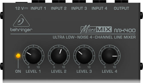 theatre of noise: Mixers for desktop music