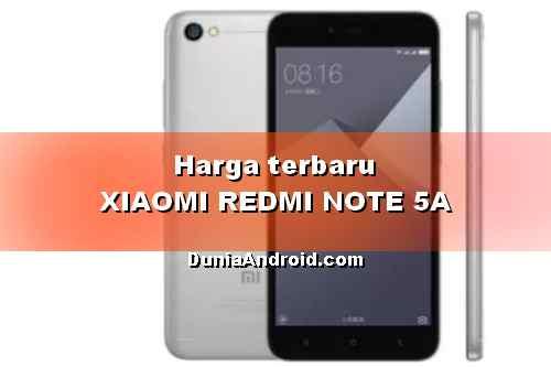 Harga HP XIAOMI Note 5A Terbaru