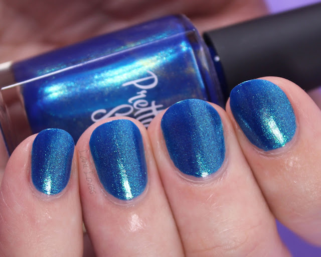 Pretty Serious My Immortal Nail Polish Swatches & Review