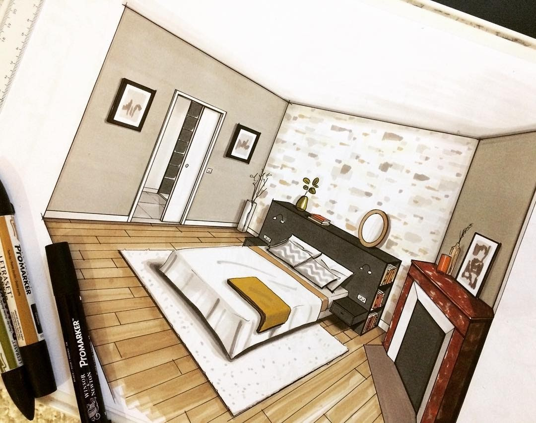11-Guest-Bedroom-Jean-Rémi-Desbrousses-A-Passion-for-Interior-Design-Drawings-www-designstack-co