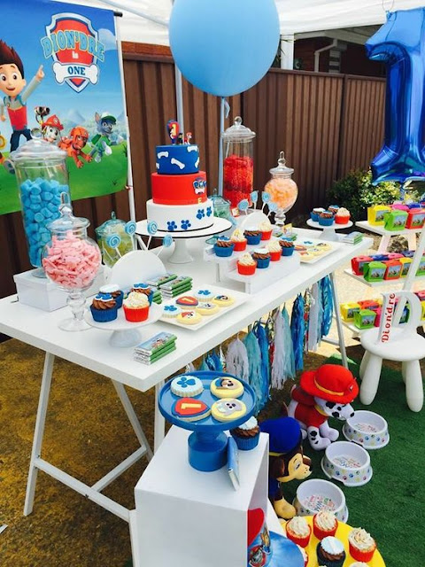 IDEAS: DECORACIÓN PAW PATROL