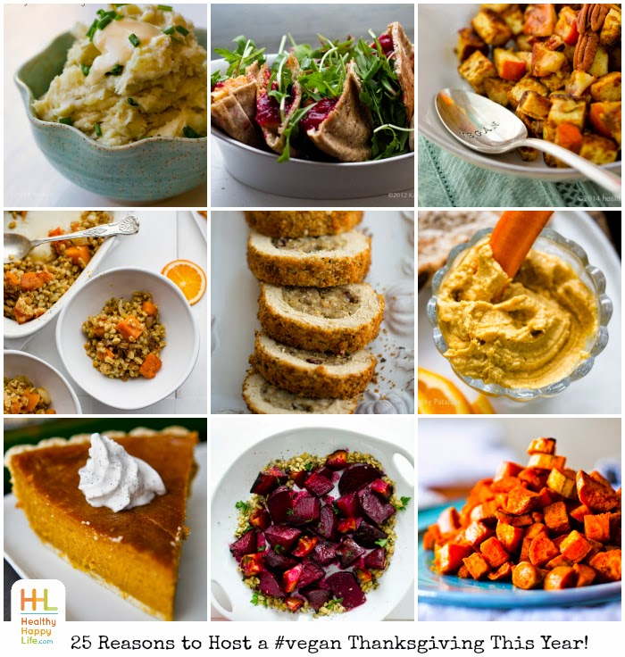 25 Reasons To Host A Vegan Thanksgiving This Year