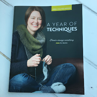Front cover of the book 'A Year of Techniques'