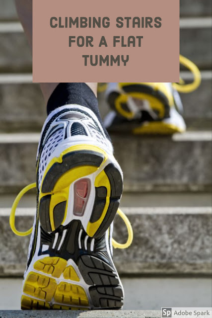 climbing-stairs-at-home-for-a-flat-tummy