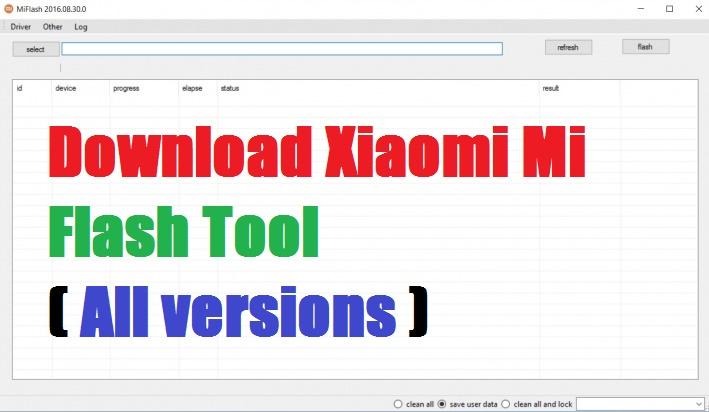 Mi flash tool download