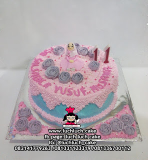 Kue Tart Untuk Anak Cewek / Ibu / Istri / Nenek