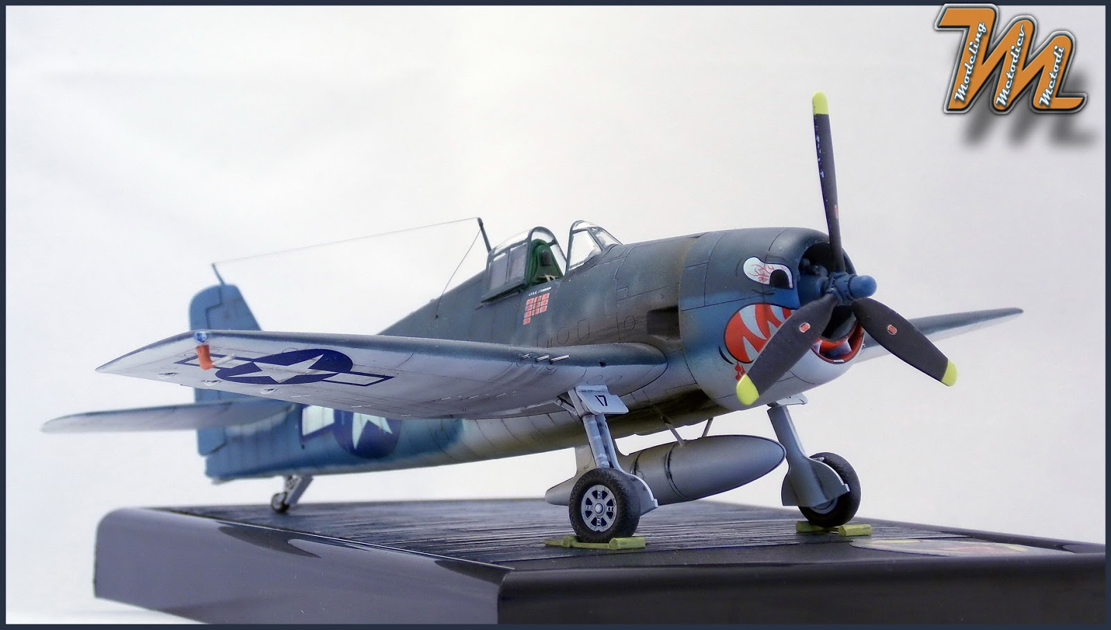 F6F, Hellcat, VF-27, airplane scale model