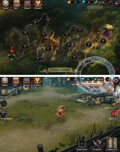 Darkness Reborn Apk UpdateTerbaru Versi Mega Mod hack game
