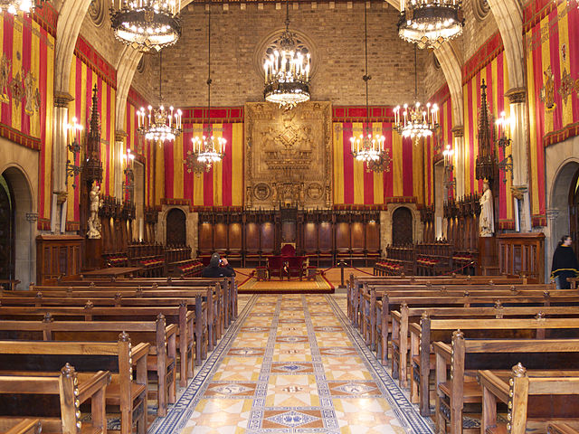 Salo de Cent in City Hall, Barcelona