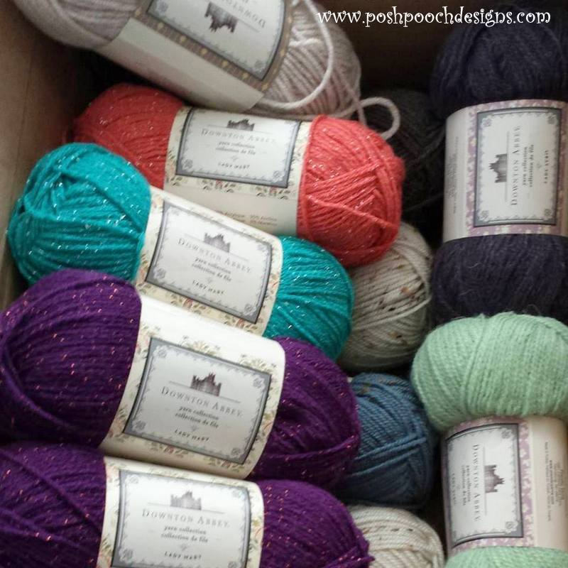 Posh Pooch Designs Dog Clothes: Downton Abbey Yarn Review and Lady ...