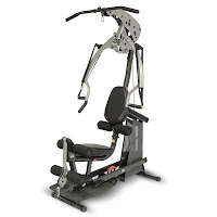 "Inspire Fitness BL1 Body Lift Home Gym, heavy-duty 2"" x 4"" oval 11 gauge tubular steel frame, 2000 lb tensile strength cables, fibreglass reinforced nylon pulleys, revolving curl bar, steel lat bar, press arm, leg extension curl bar, padded bench with adjustable seat and backrest"